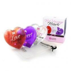 Serduszko do masażu - LoversPremium - Hot Massage Hearts 3szt