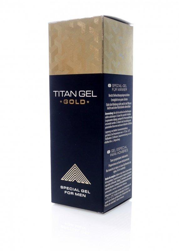 Żel/sprej-Titan GEL GOLD 50ml.( ORGINAL )