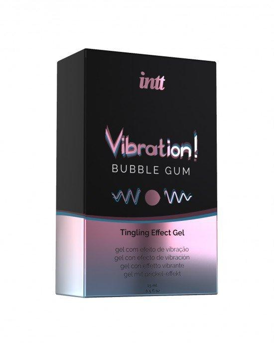 Żel-VIBRATION BUBBLE GUM 15 ml