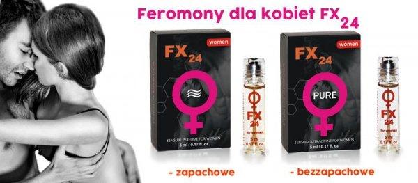 Feromony damskie - FX24 aroma roll-on 5 ml