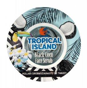 Marion Tropical Island Peeling drobnoziarnisty do twarzy Black Coco  8g