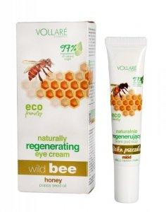 Vollare Dzika Pszczoła Krem naturalnie regenerujący pod oczy 15ml