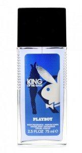 Playboy King of the Game Dezodorant naturalny spray  75ml