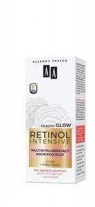 AA Retinol Intensive Multiwygładzający Krem pod oczy - lifting+sprężystość 15ml