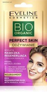 Eveline Bio Organic Perfect Skin Bogata Maseczka regenerująca z miodem manuka 8ml