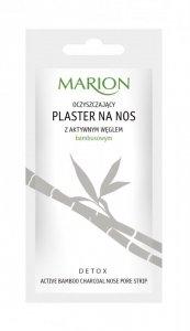 Marion Detox Aktywny Węgiel Plaster na nos oczyszczający 1szt