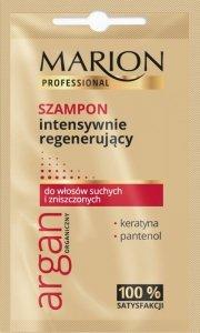 Marion Professional Argan Organiczny Szampon do włosów intensywnie regenerujący 10g - saszetka