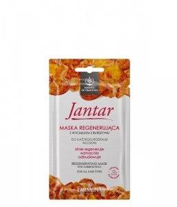 Farmona Jantar Maska regenerująca do włosów każdego rodzaju  20ml saszetka