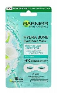 Garnier Skin Naturals Moisture+ Maska pod oczy Coconut Water & Hyaluronic Acid  6g