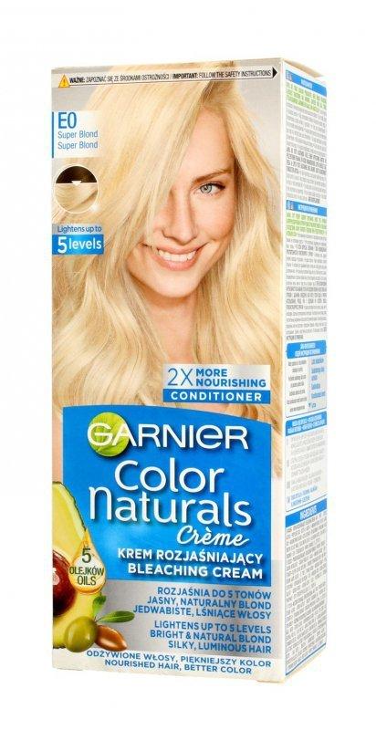 Garnier Color Naturals Krem koloryzujący nr E0 Rozjaśniacz Superblond  1op