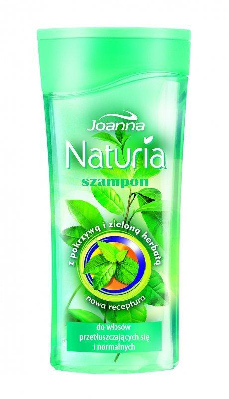 Joanna Naturia Szampon do włosów Pokrzywa i zielona herbata 200ml