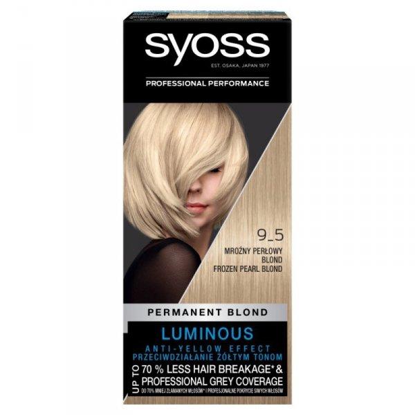 Schwarzkopf Syoss Farba do włosów Mroźny Perłowy Blond nr 9-5  1op.