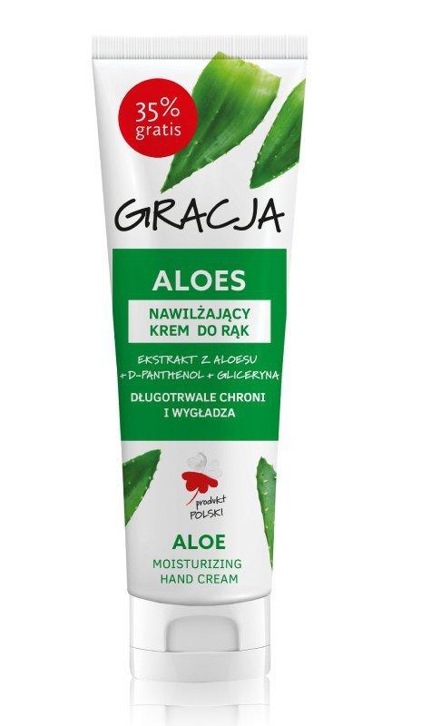 Gracja Krem nawilżający do rąk Aloes  100ml