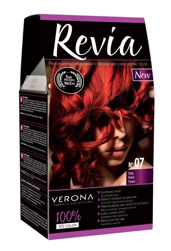 Verona Farba do włosów nr 07 RUBIN  50ml