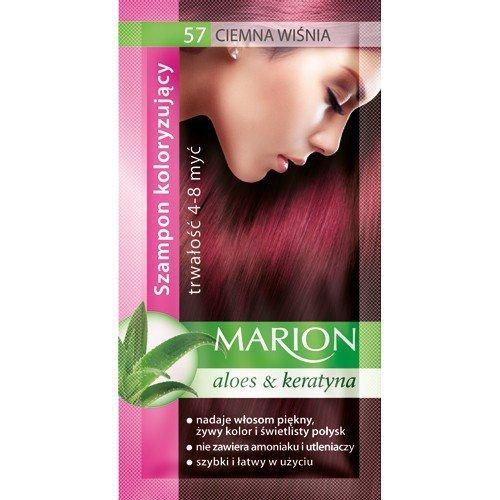 Marion Szampon koloryzujący 4-8 myć nr 57 ciemna wiśnia