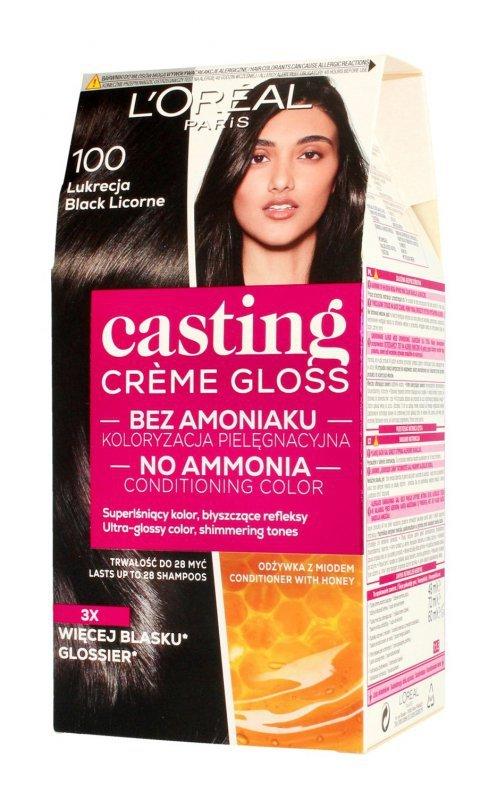 Casting Creme Gloss Krem koloryzujący nr 100 Lukrecja  1op.