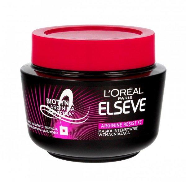 Loreal Elseve Arginine Resist Maseczka do włosów 300ml
