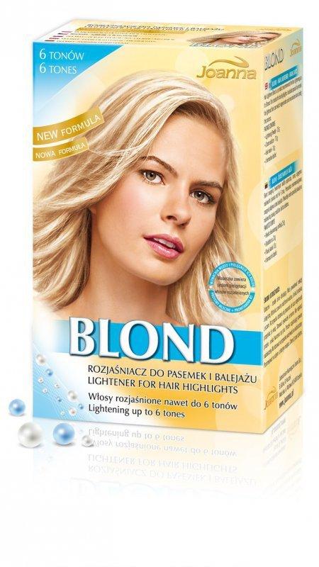 Joanna Rozjaśniacz  Blond do pasemek 6 tonów  1op