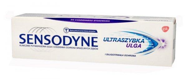GSK Sensodyne Pasta do zębów Ultraszybka Ulga 75ml