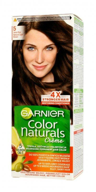 Garnier Color Naturals Krem koloryzujący nr 5 Jasny Brąz 1op