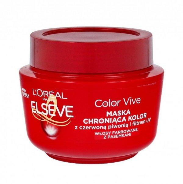 Loreal Elseve Color z filtrem UV Maseczka do włosów farbowanych 300ml