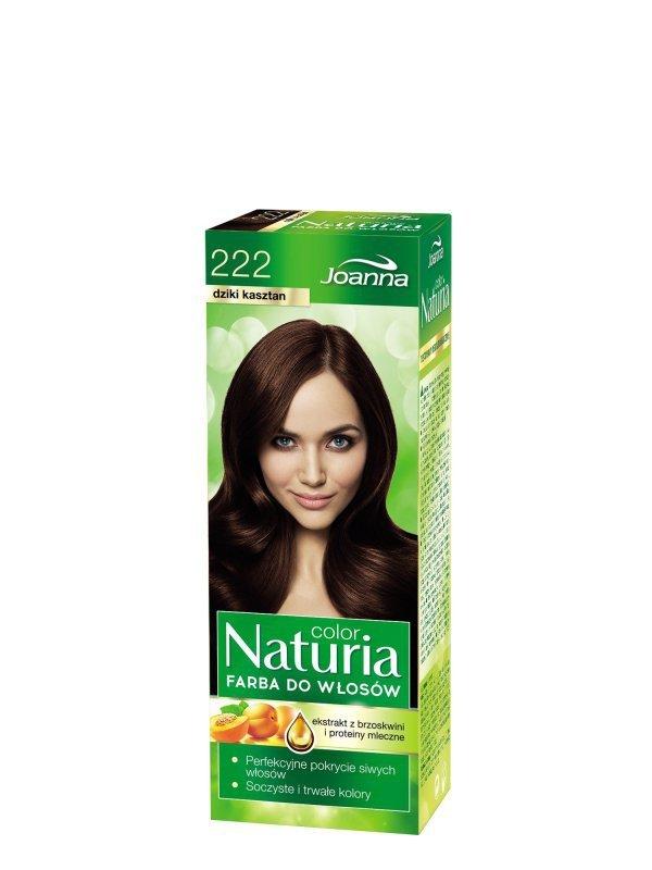 Joanna Naturia Color Farba do włosów nr 222-dziki kasztan  150g