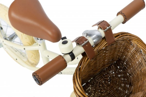 Banwood FIRST GO! rowerek biegowy bonton cream