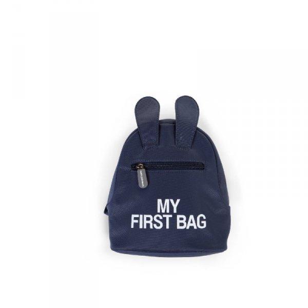 Childhome Plecak dziecięcy My First Bag Granatowy