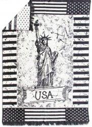 Młodzieżowy koc USA 150x200