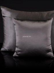 Jedwabna poszewka na poduszkę grey 40x40, 50x70