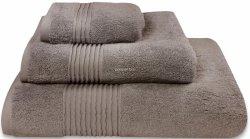 Nowoczesny ręcznik jednolity brąz 700g - 30x50, 50x100, 70x140