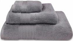 Nowoczesny ręcznik jednolity szary 700g - 30x50, 50x100, 70x140