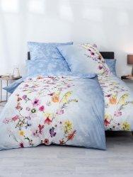 Estella pościel satyna de luxe Laura bleu 1092 200x220