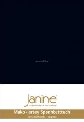 Janine prześcieradło jersey z gumką schwarz