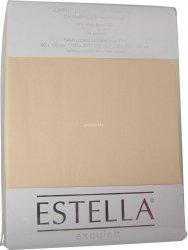 Prześcieradło zwirn-jersey z gumką Estella natur