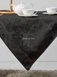 Bieżnik żakardowy czarny 50x150