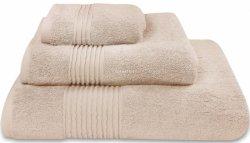 Nowoczesny ręcznik jednolity beż 700g - 30x50, 50x100, 70x140