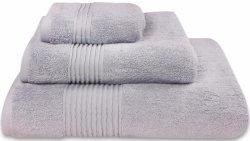 Nowoczesny ręcznik jednolity jasny szary 700g - 30x50, 50x100, 70x140