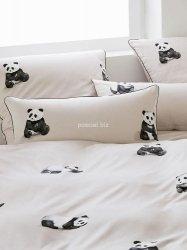 Elegante pościel mako-bawełniana egipska Panda sand 2328 135x200
