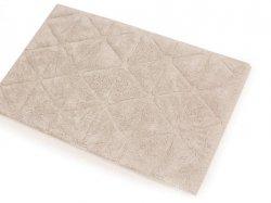Dywanik łazienkowy Trójkąty len 50x80, 70x120