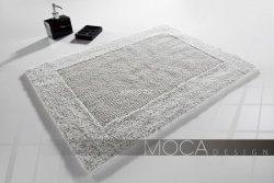 Dywanik łazienkowy MOCA Design srebrny 60x60, 50x80, 60x105,