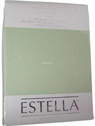 Prześcieradło zwirn-jersey z gumką Estella verde
