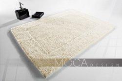 Dywanik łazienkowy MOCA Design ecru 60x60, 50x75, 60x100, 70x130