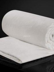 Kołdra jedwabna Malbery całoroczna w bawełnianym poszyciu 160x200
