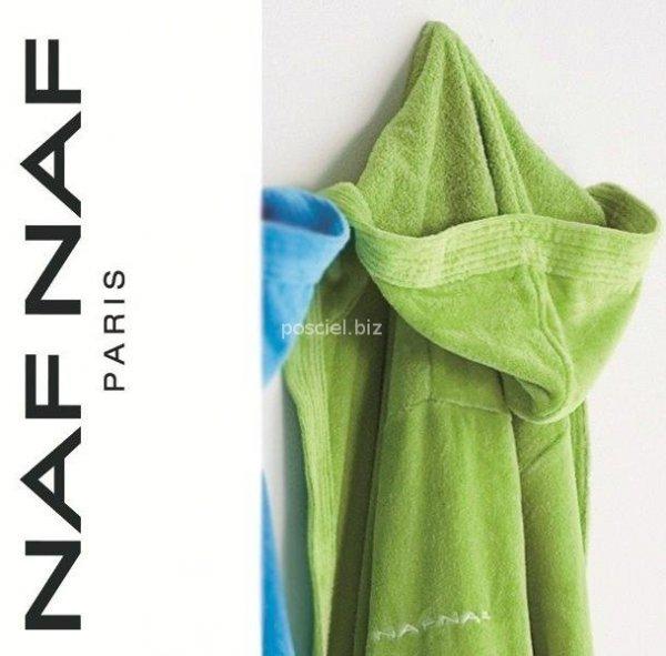 Elegancki szlafrok unisex Naf Naf zielony S