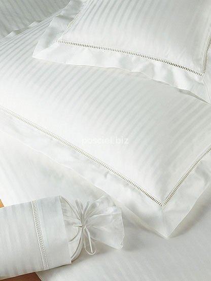 Elegante pościel bawełniana egipska White house biała 2280 135x200