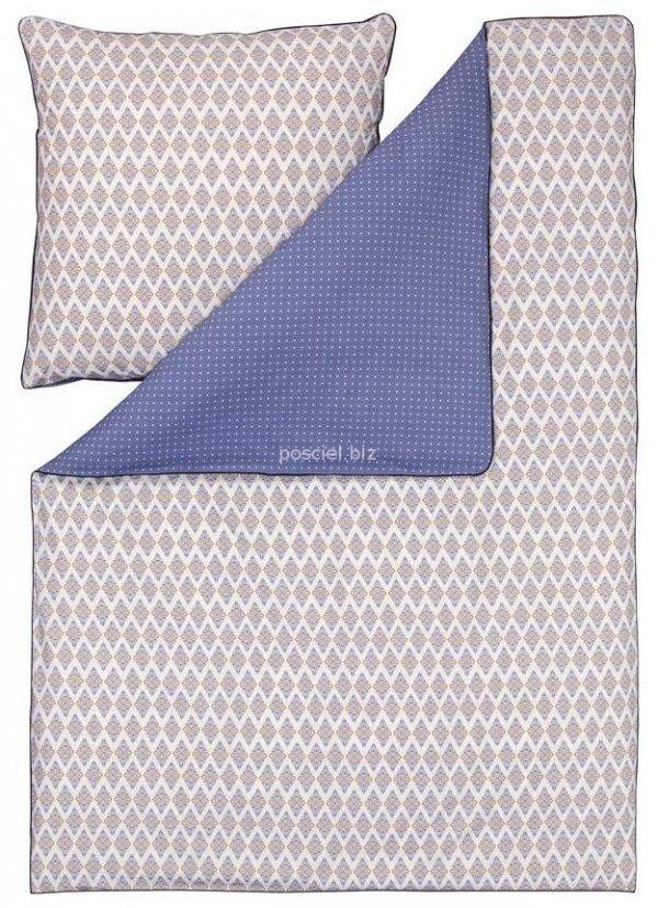Estella pościel bio-bawełniana Casablanca blau 3205 200x220