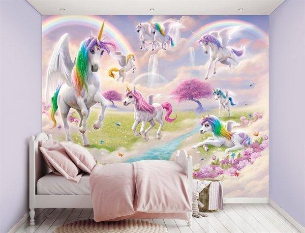 Tapeta 3D Walltastic Unicorny