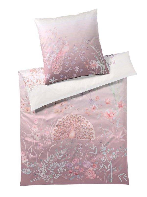 Elegante pościel bawełniana egipska Fantasia pastellpink 2250 155x200