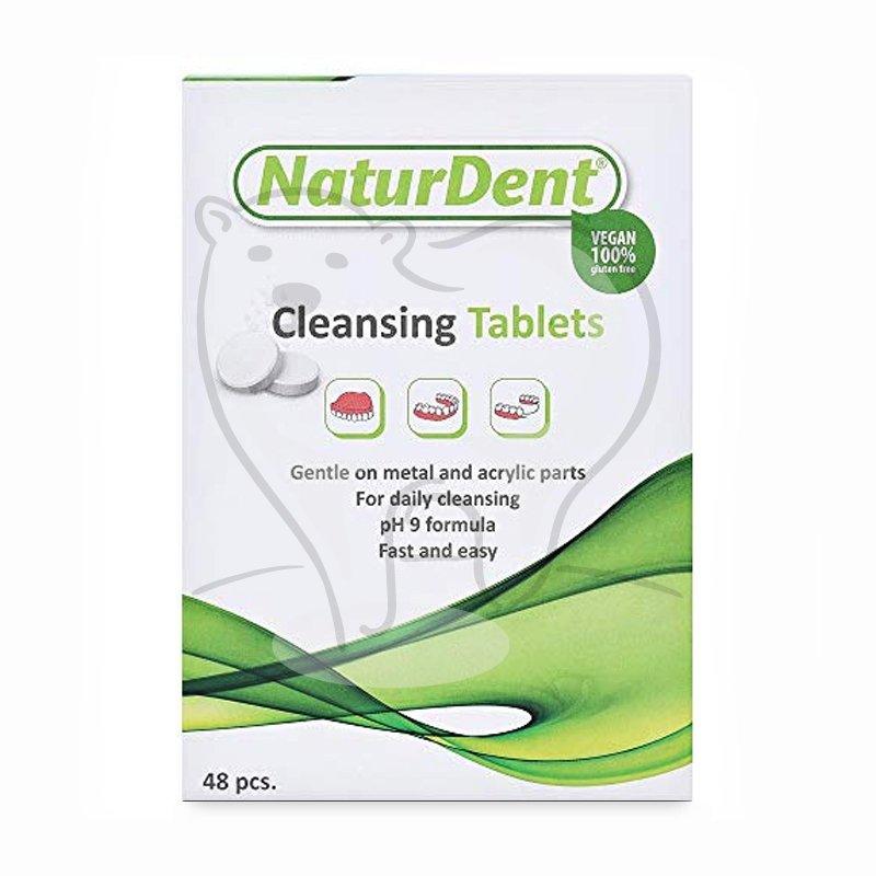 Naturdent tabletki czyszczące do protez 100% vegan